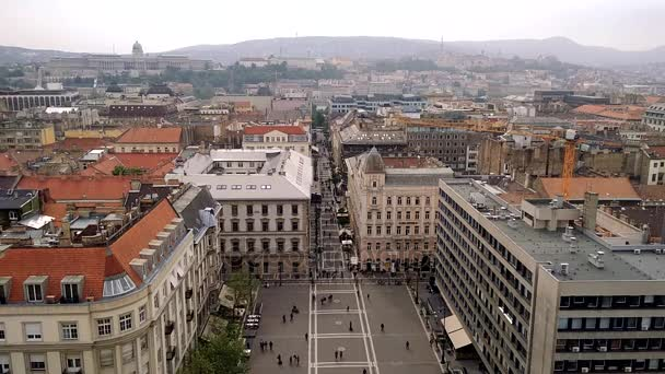 A légi felvétel a Szent István tér, Budapest