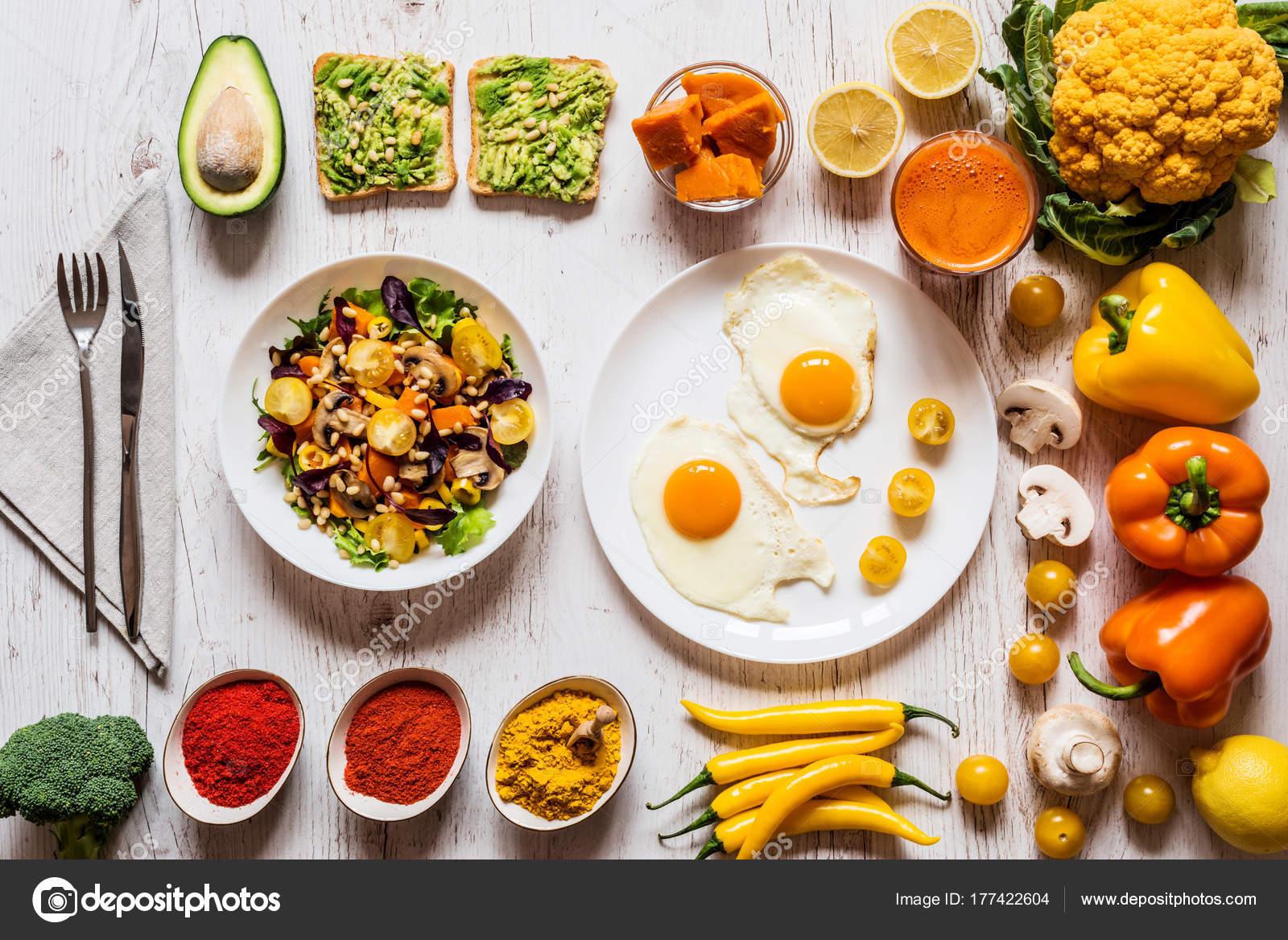 ensaladas de verduras para desayunar