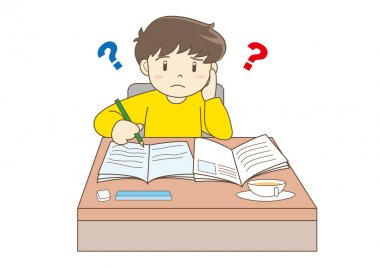 Child Studying image