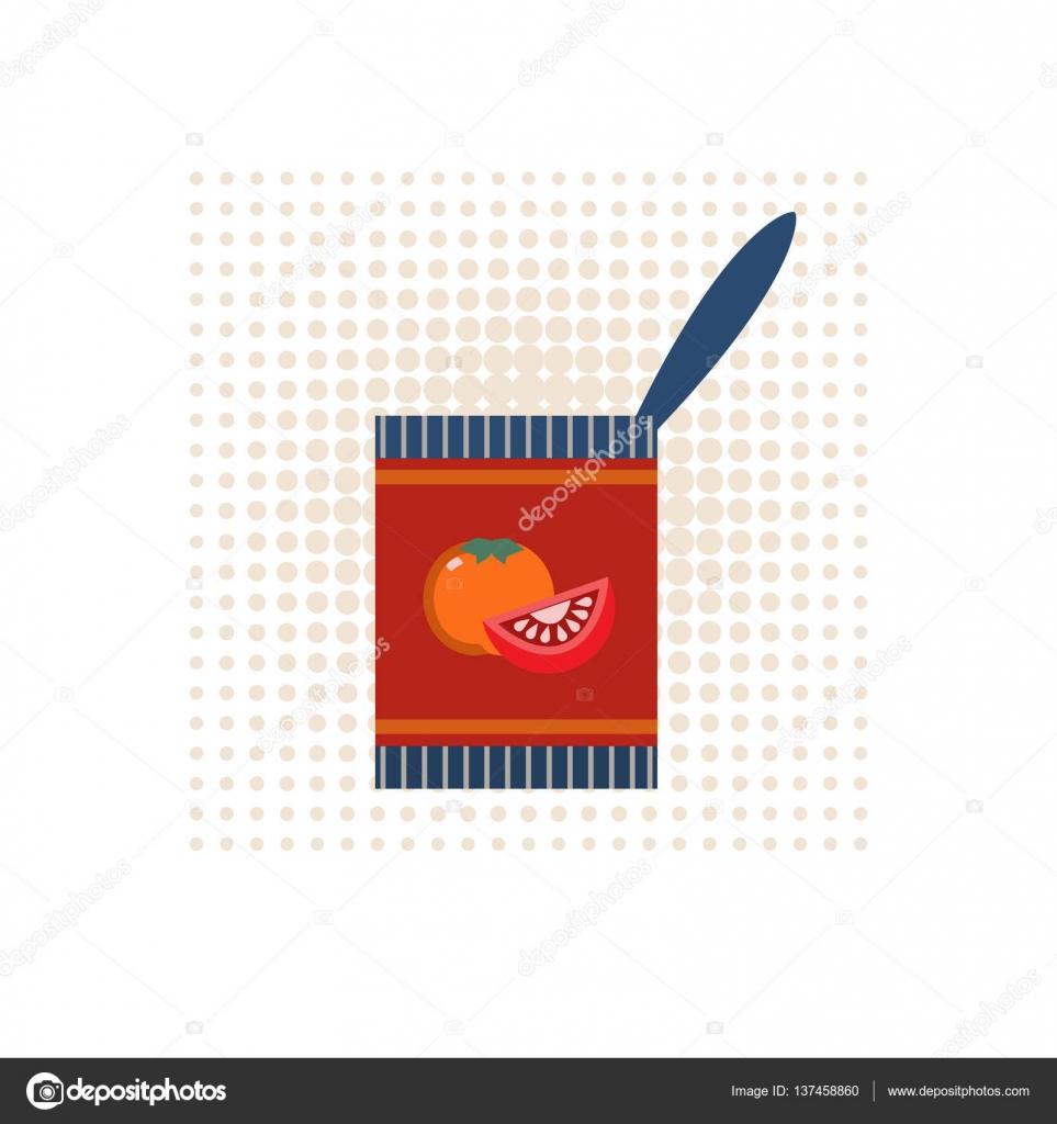 icono de conservas alimenticias — Vector de stock © 64samcorp ...
