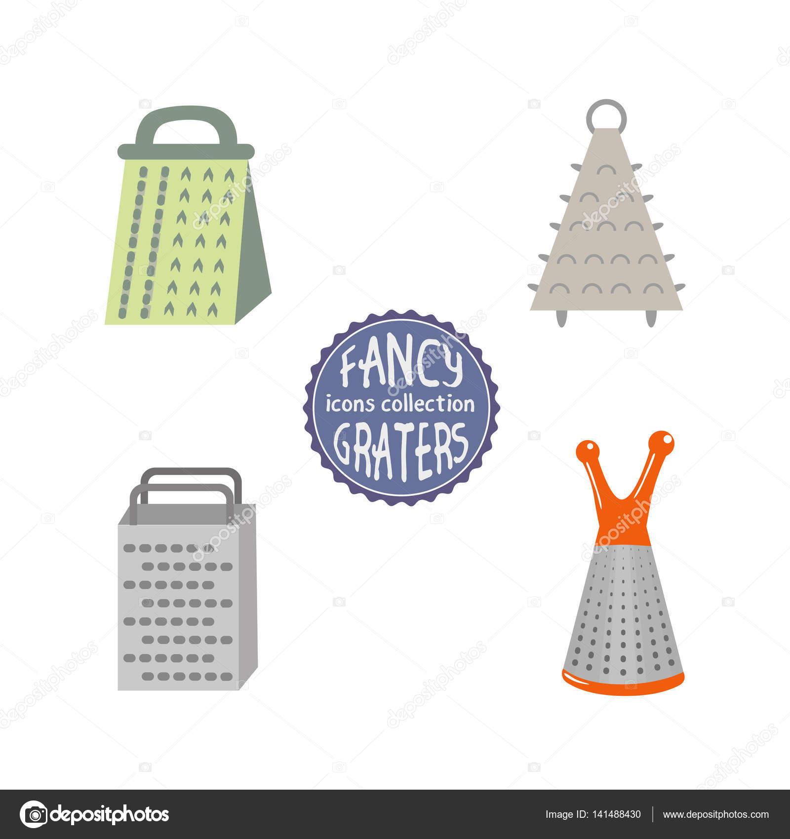 Gitter Für Küchenutensilien reibe küchenutensilien — stockvektor © 64samcorp.gmail #141488430