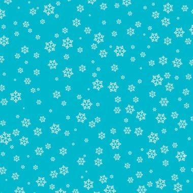 Snow pattern. Vector illustration. Falling snow.