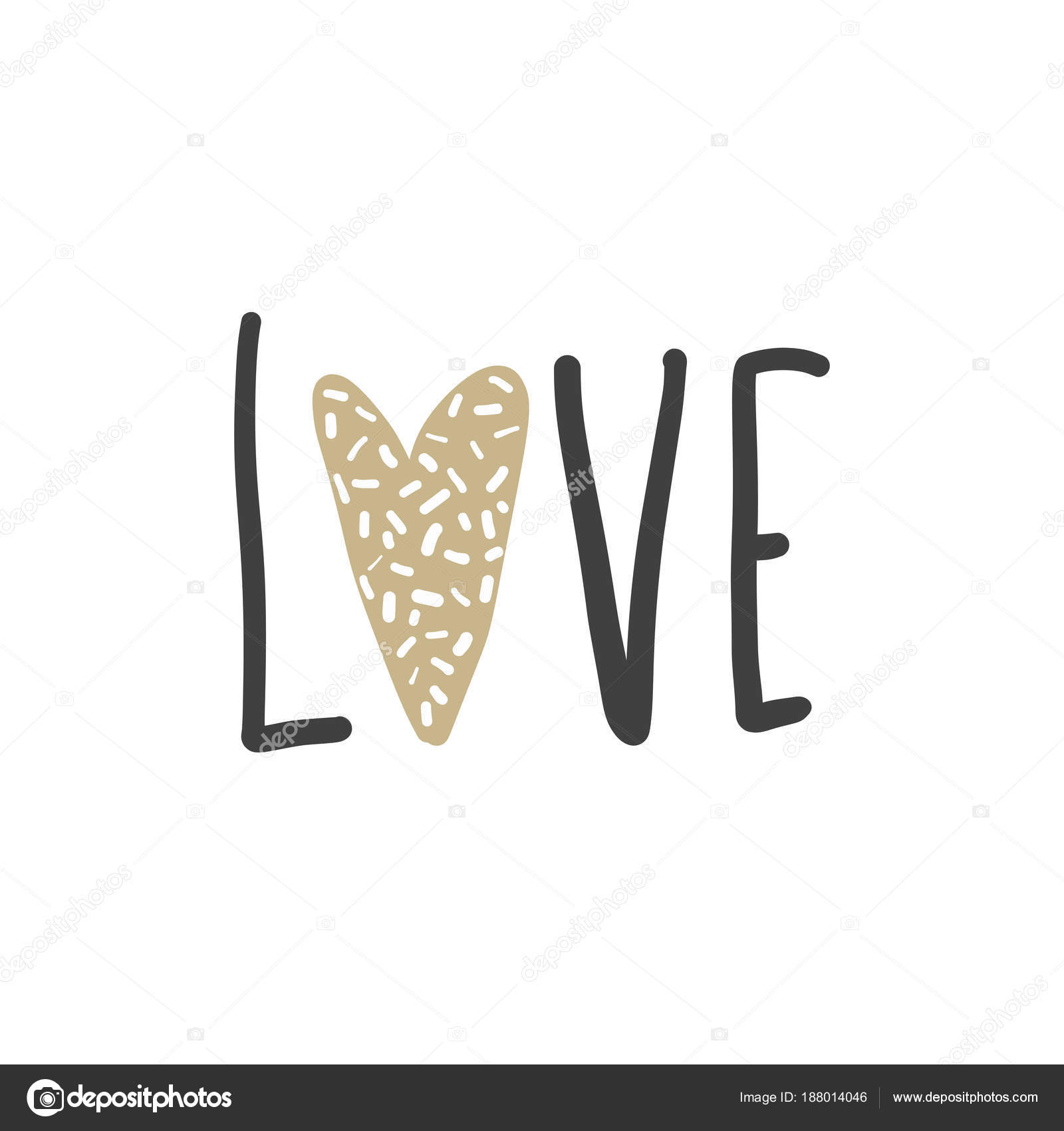 Vector Greeting Cards On Valentines Day Hearts And Love Stock