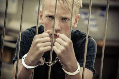 Rebellious teenager taken prisoner