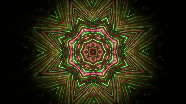 Abstraktní květinový ornament kaleidoskop