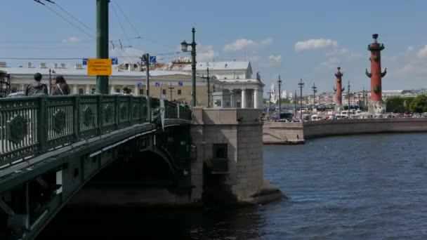 Tuchkov most Petrohrad Rusko srpen 2016