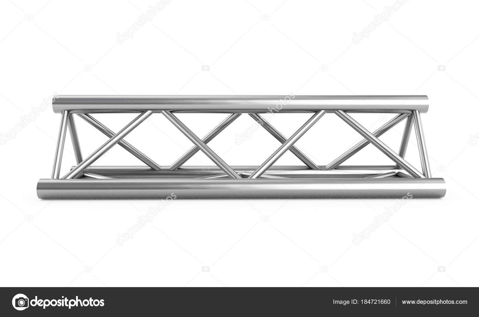 Steel truss girder rooftop construction with outdoor festival st