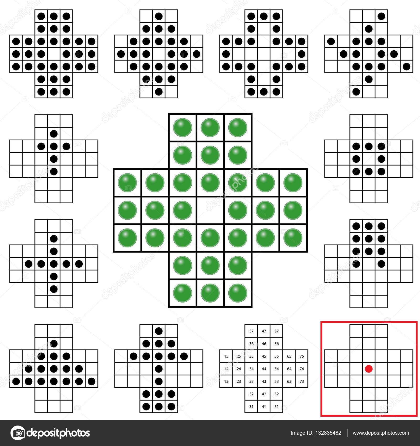 Vectores Juegos Matematicos Con El Juego Del Solitario