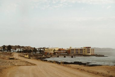 Luderitz, Namibia a tourist town popular for its diamond mining