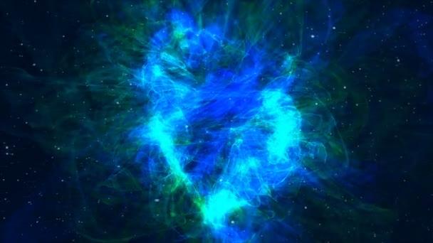 Galaxie Mléčná dráha animace