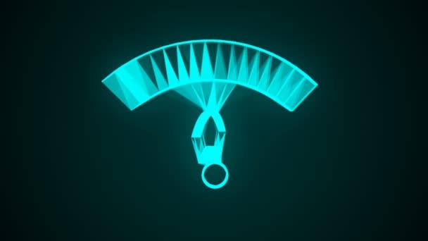 WiFi-Technologie Netzwerk Symbol animation