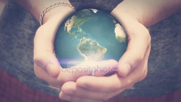 a föld forog az ember kezében