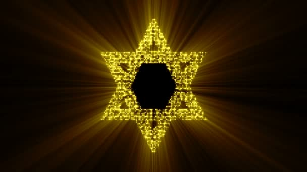 Davidova hvězda animovaný