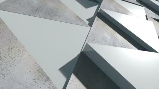 Firemní pozadí skládající se z reálné trojúhelníky