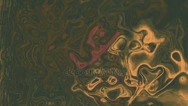 Abstraktní barevné barvy inkoustu explodovat difúze psychedelické Blast hnutí