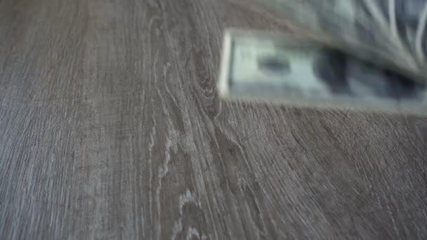 mladý podnikatel vyvolá sto dolarů
