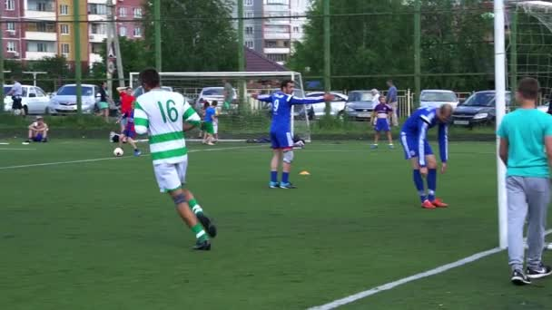 KURSK, RUSSIA - JULE 3: football match of the championship Amateur teams