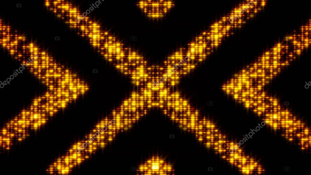 Flickering light background with arrows. Abstract digital backdrop. Technology 3d rendering
