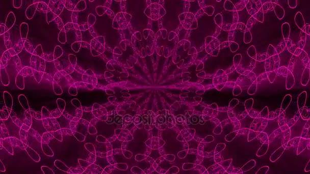 lila abstrakten Hintergrund. Kaleidoskop-Kulisse. 3D-Darstellung