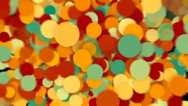 pozadí abstraktní s barevnými kruhy