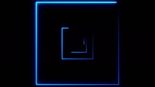Absztrakt háttér neon terek