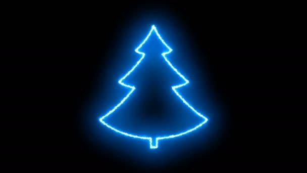 Abstraktní pozadí znakem vánoční stromeček