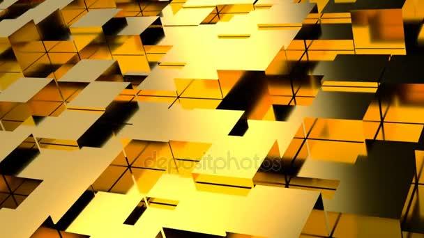 Abstraktní pozadí s zlaté bloky