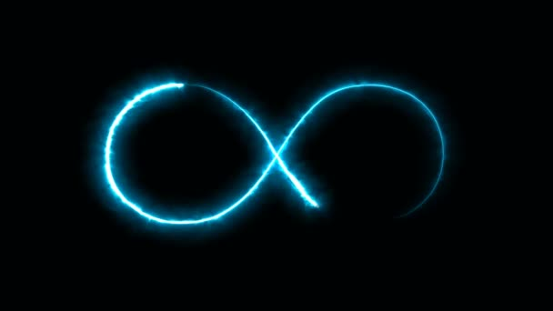 Abstract background with infinity sign. Digital background
