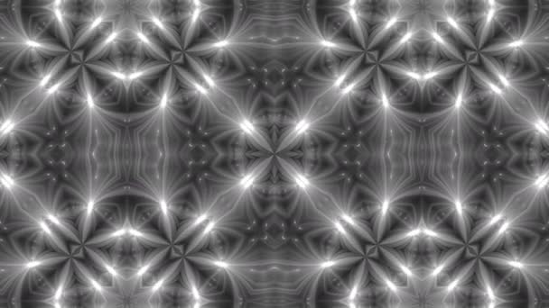 VJ Fractal kaleidoscope background. Background motion with fractal design