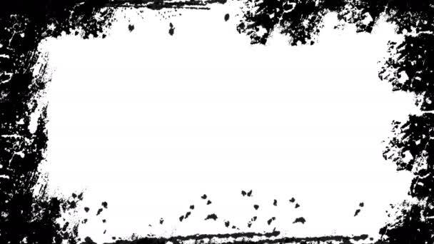 Abstraktní pozadí s grunge rámečku texturou. Digitální obrázek pozadí