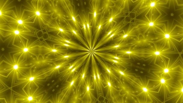 VJ Fractal kaleidoscope background. Background motion with fractal design