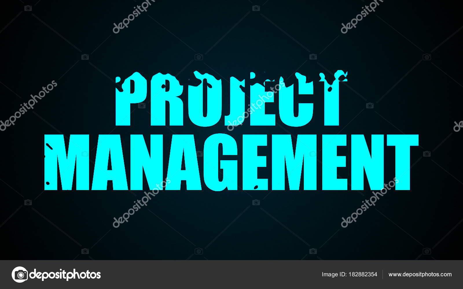 Texto de gestión de proyectos. Resumen de antecedentes. Digital 3d ...