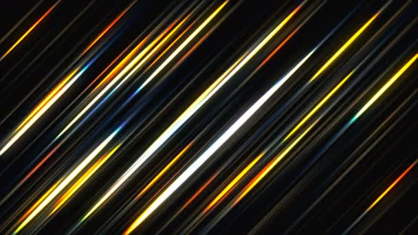 Abstraktní pozadí s zářící diagonální čáry. 3D vykreslování digitální pozadí