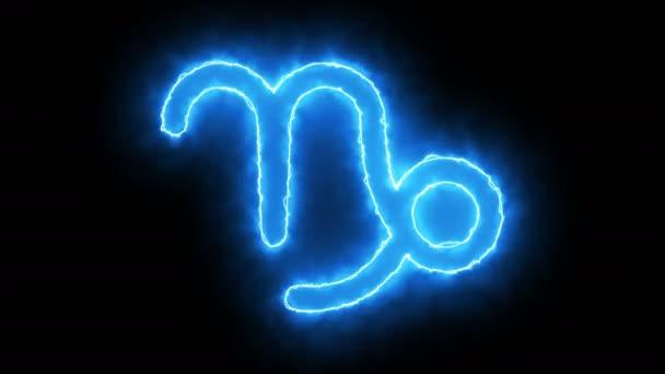 3D vykreslování symbol zvěrokruhu. Digitální pozadí