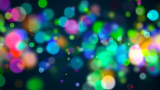 Bokeh s více barev, světla bokeh pozadí, 3d vykreslování pozadí