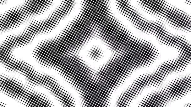 Polotónování mnoha teček, počítačově generované abstraktní pozadí, 3D vykreslování pozadí s optickým efektem iluze
