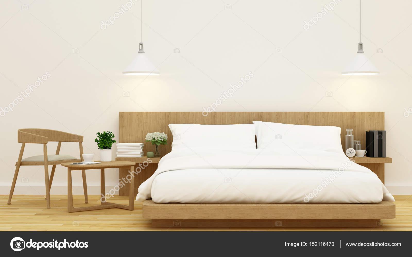 Letti Di Design In Legno : Camera da letto di design in legno e telaio per opera d arte
