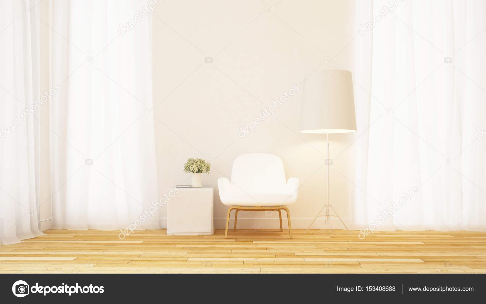 Wohnzimmer oder Bibliothek Bereich sauber entwerfen - 3d Rendering ...