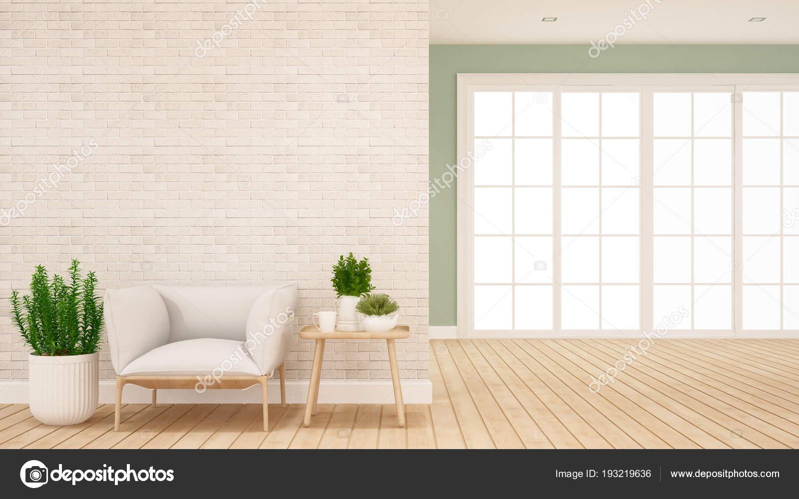 Wohnbereich und Halle in Wohnung oder Haus - Interior Design für ...