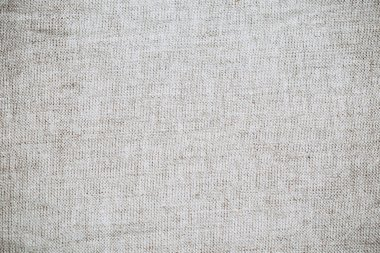 The texture of natural linen fabric, copy space
