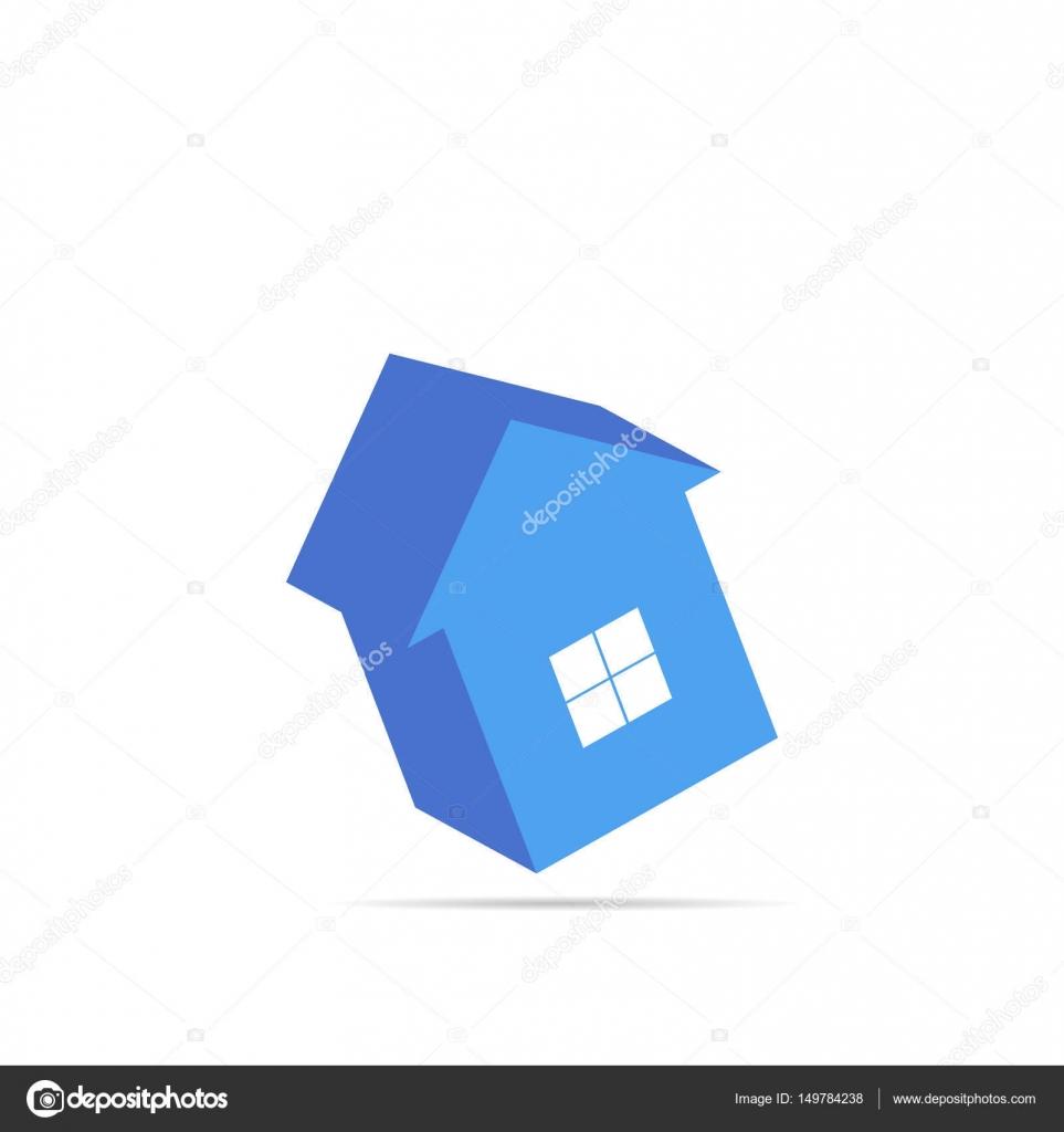 Bunte Haus Konzept. Flache Haussymbol. Entwerfen Sie Ihr Eigenes Apart U2014  Stockvektor