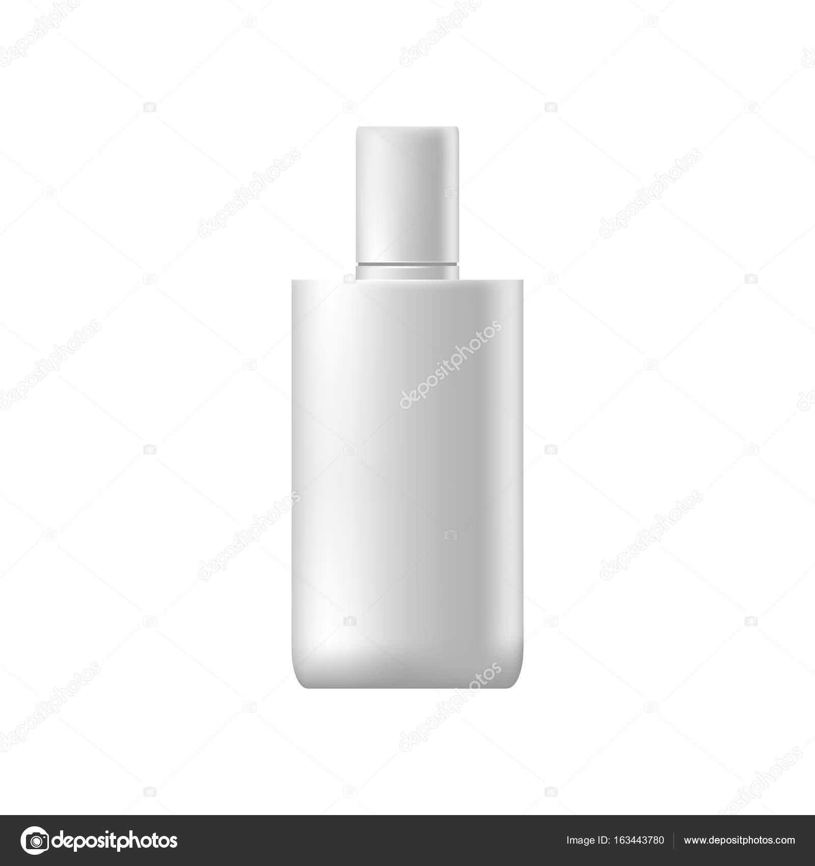 Vektor Vorlagen von leeren und sauberen weißen Kunststoff Dataset ...