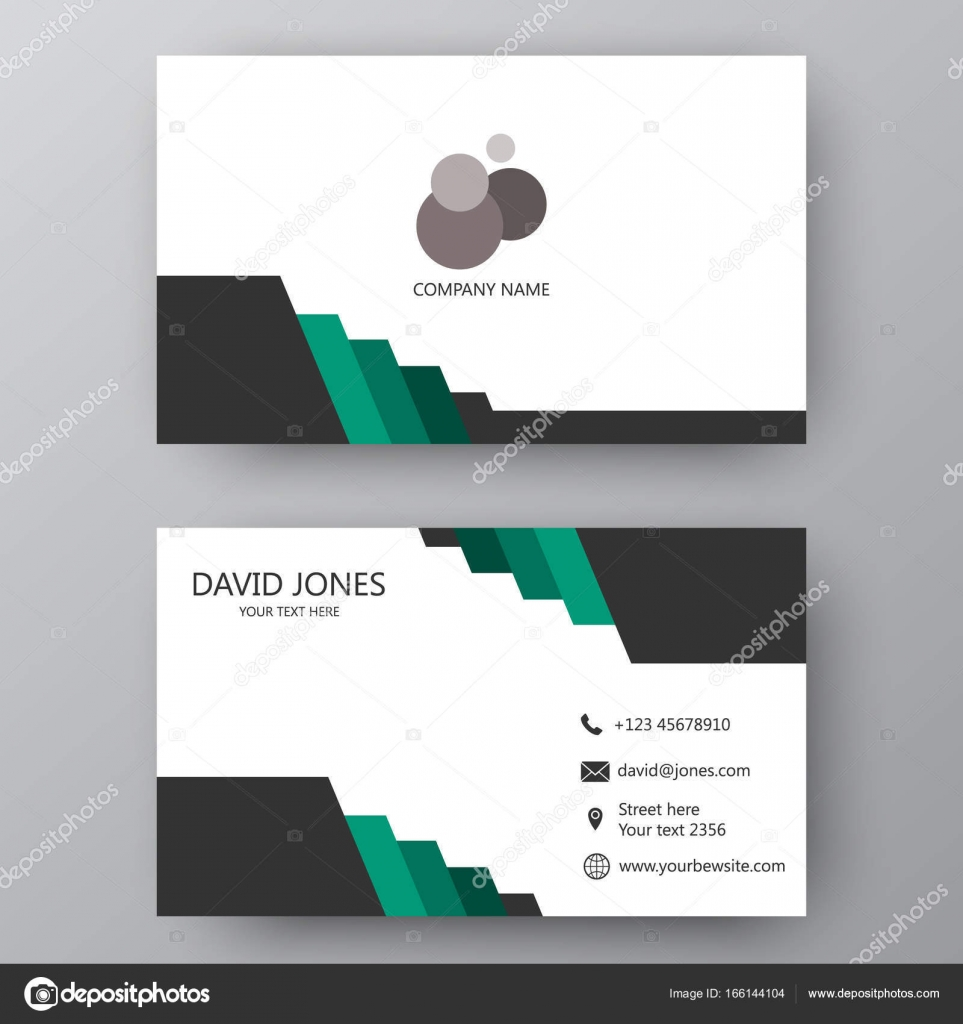 tarjetas presentacion elegantes tarjeta de presentación moderna