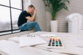 Kreatív válság, egy fiatal művész