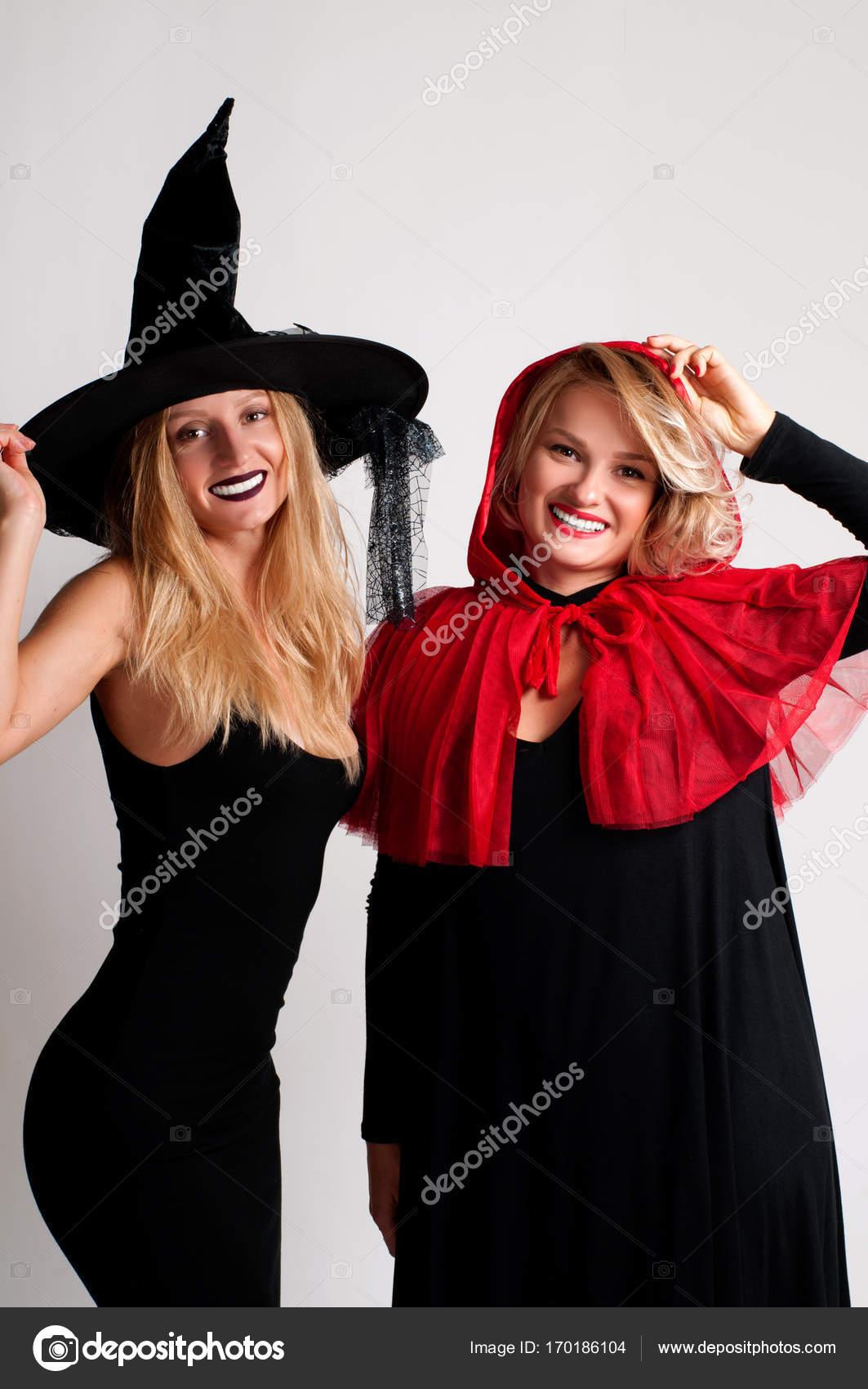 Образ девушек на хэллоуин