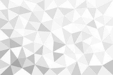 Grey  trigonal, polygonal background