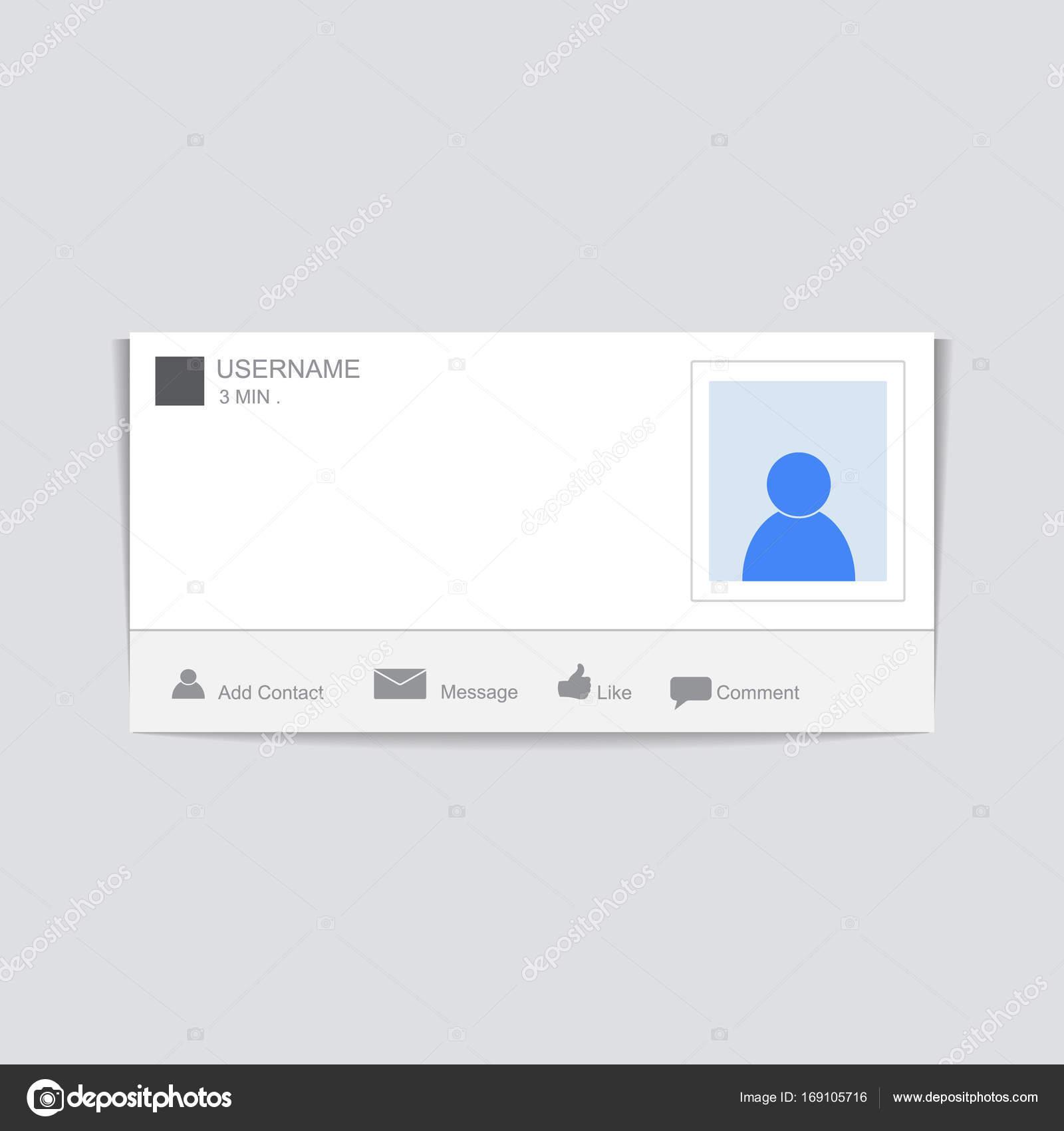 Soziale Fotorahmen. Kontakte-Vorlage Rahmen. Legen Sie Ihre pi ...