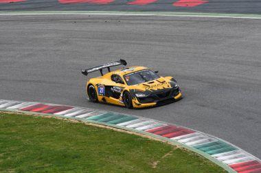12 ore Hankook Mugello 18 March 2017:#27 GP Extreme, Renault RS01 FGT3: Frederic Fatien, Jordan Grogor, Tiziano Carugati on Mugello Circuit, Italy.