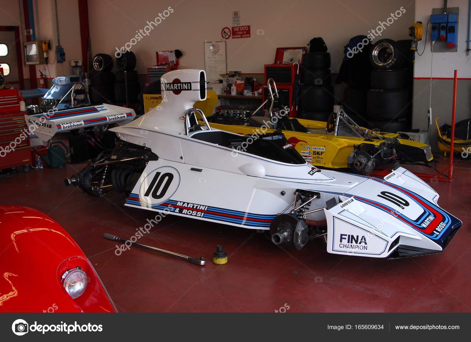 Mugello Circuit 1 April 2007: Classic F1 Car 1975 Brabham BT44B ex ...