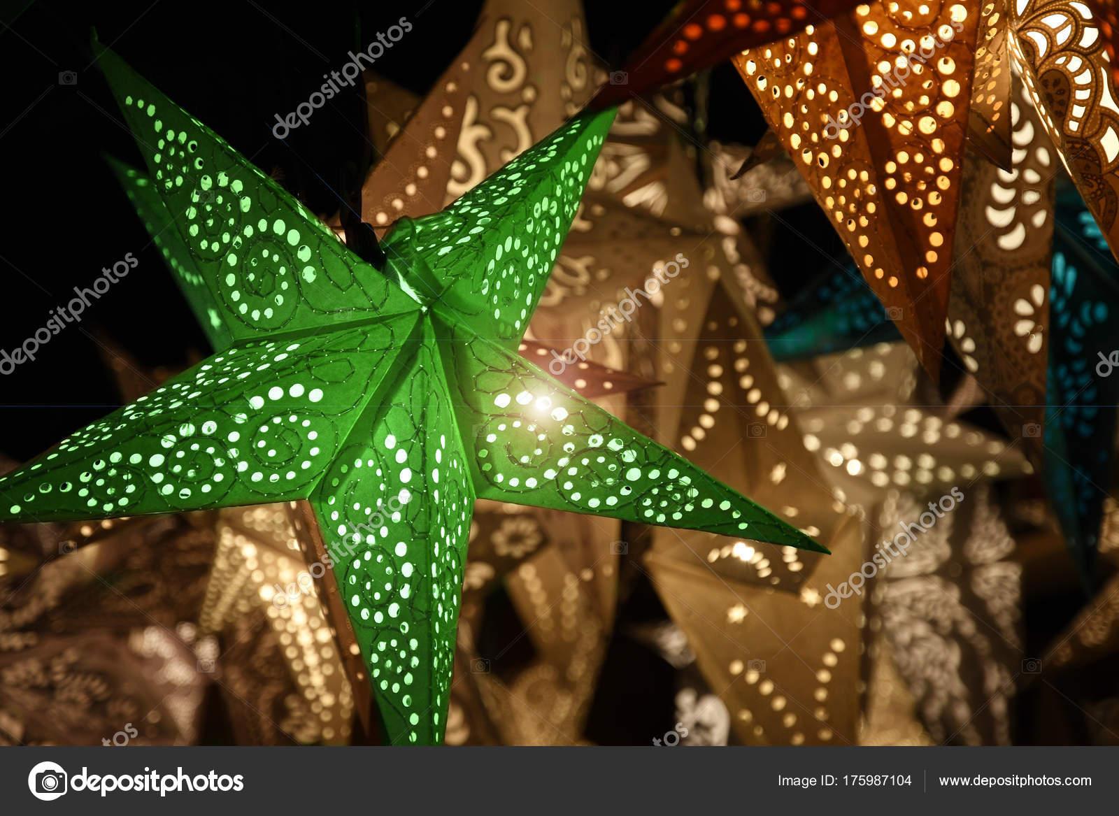 florence december 2017 christmas ornaments christmas market italy stock photo